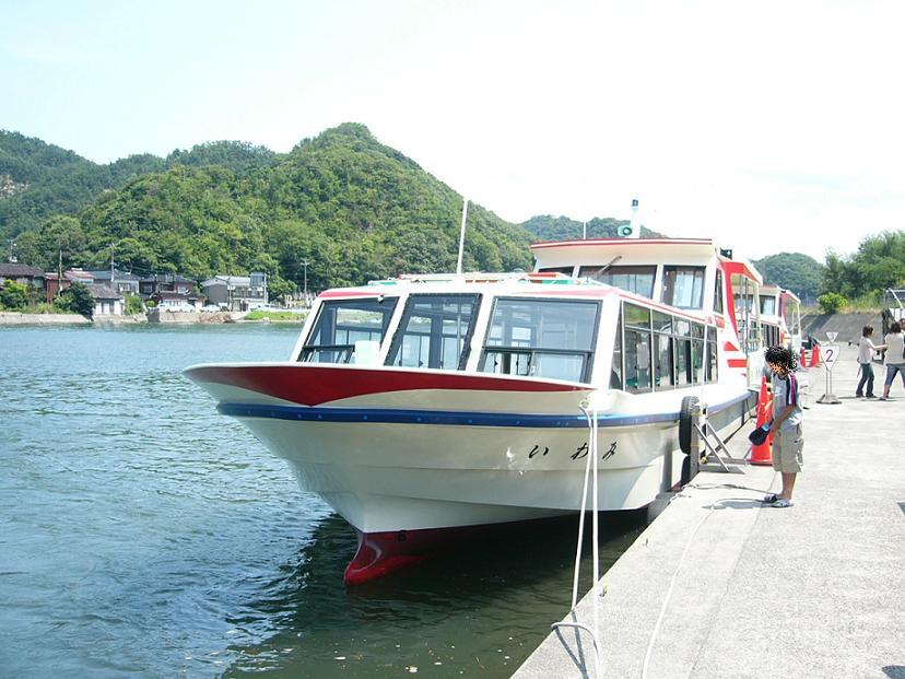 浦富海岸 遊覧船